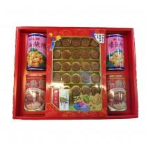 鲍魚干貝魚翅罐禮盒