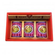 智利鮑魚禮盒3粒3罐(425g/罐)