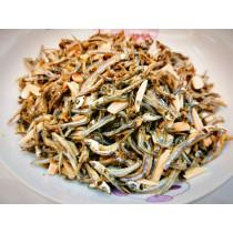 【杏仁小魚】300g╱豐富鈣.磷.鐵╱ 香.酥.脆的口感