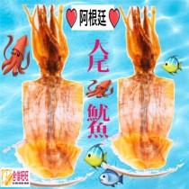 【阿根迋魷魚乾】 (大尾)125g±10%╱隻